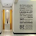 ieftine Cârlige Pescuit-Autocolante de Perete Decorative - Cuvinte și citate autocolante de perete Cuvinte & Citate Sufragerie / Dormitor / Cameră de studiu /