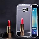 povoljno iPhone maske-Θήκη Za Samsung Galaxy S7 edge / S7 / S6 edge plus Zrcalo Stražnja maska Jednobojni TPU