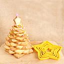 رخيصةأون أدوات الفرن-6 قطع خمس نجوم قالب الكعكة الكعكة الخبز يموت قطع أداة البسكويت العفن