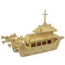 povoljno LED svjetla u traci-3D puzzle Drvene puzzle Drveni modeli Brod Drvo Dječaci Djevojčice Igračke za kućne ljubimce Poklon