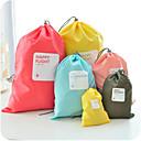 povoljno Putne torbe-4 komada Putna torba / Organizator putovanja / Organizer putne torbe Velika zapremnina / Vodootporno / Prašinu Jednobojni Odjeća Najlon / Izdržljivost