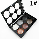 8 Colors Eyeshadow Palette / Powders Eye / Face Shimmer glitter gloss Coloured gloss Pot gloss Daily Makeup / Halloween Makeup / Party Makeup 1160 Cosmetic