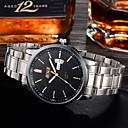 ieftine Ceasuri Bărbați-Bărbați Ceas de Mână Quartz Rezistent la Apă / Luminos Aliaj Bandă Argint Marca-