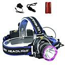 ieftine Frontale-LS1792 Frontale Becul farurilor Tactic Rezistent la apă 2000 lm LED LED 1 emițători 3 Mod Zbor cu Baterii și Încărcătoare Tactic Rezistent la apă Zoomable Reîncărcabil Focalizare Ajustabilă Rezistent