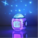 povoljno LED noćna rasvjeta-glazba zvjezdano zvijezda nebo digitalni vodio projektor projektor budilica kalendar