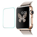 cheap Smartwatch Screen Protectors-Screen Protector For iWatch 42mm Tempered Glass 2.5D Curved edge 9H Hardness 2 pcs