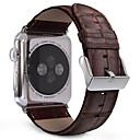 voordelige Merk Horloge-Horlogeband voor Apple Watch Series 5/4/3/2/1 Apple Klassieke gesp Echt leer Polsband
