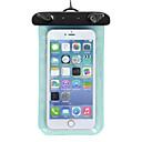 رخيصةأون أغطية أيفون-حقيبة الهاتف الخليوي إلى iPhone X iPhone XR iPhone XS مقاوم للماء خفة الوزن بلاستيك PVC / iPhone XS Max / iPhone XS Max