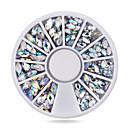 رخيصةأون المكياج & العناية بالأظافر-أكريليك مجوهرات الأظافر أحجار الراين من أجل إصبع محبوب / 3D فن الأظافر تجميل الأظافر والقدمين كلاسيكي مناسب للبس اليومي