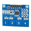 povoljno Trake i žice-Kapacitivni touch prekidač modul digitalne ttp224 4-way dodirni senzor za Arduino