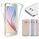 ieftine Carcase iPhone-Maska Pentru Samsung Galaxy S7 edge / S7 / S6 edge Transparent Carcasă Telefon Mată TPU