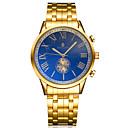رخيصةأون ساعات الرجال-رجال ساعة المعصم داخل الساعة أتوماتيك نقش جوفاء أشابة فرقة ذهبي Brand-