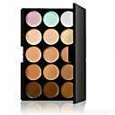 15 Colors Cream Concealer / Contour Dry / Wet / Combination Breathable / Whitening / Concealer Face China Natural Makeup Cosmetic