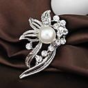 povoljno Ekstenzije za kosu-Žene Broševi dame Moda Umjetno drago kamenje Broš Jewelry Pink Za Vjenčanje Party Special Occasion Rođendan Dar Dnevno