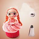 ieftine Bijuterii de Corp-fără sudură țevi de gheață duze sfaturi din oțel inoxidabil barbie fata fuste de patiserie crema de tort cupcakes
