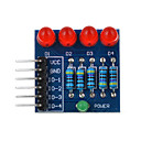 4P LED Diode PWM Dimming Module Red Light - Blue + Red + Multicolor Suitable Arduino Scientific Research