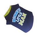 tanie Etui / Pokrowce do Samsunga Galaxy S-Psy T-shirt Ubrania dla psów Oddychający Niebieski / Zielony Kostium Bawełna Litery i cyfry Moda XS S