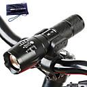 رخيصةأون مصابيح اليد-A100 LED Flashlights تكتيكي ضد الماء 1000 lm LED Cree® T6 1 بواعث 5 إضاءة الوضع تكتيكي ضد الماء زوومابلي قابلة لإعادة الشحن Adjustable Focus Impact Resistant  Camping / Hiking / Caving Everyday Use