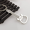 cheap Barware-Gift Zinc Alloy beer guitar bottle opener bottle opener keychain keyring key chain key ring