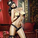 ieftine Machiaj Halloween-Pentru femei Costume Moș Uniforme Mai multe costume Uniforme sexy Sex Costume Cosplay Bloc Culoare Cercel