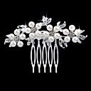 povoljno Nakit za kosu-Žene Elegantna i Luksuzan Kristal Imitacija bisera Imitacija dijamanta Kosa Combs Vjenčanje Party