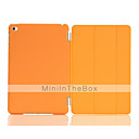 ieftine Aplice de Exterior-Maska Pentru Apple iPad Mini 4 Cu Stand / Auto Sleep / Wake / Origami Carcasă Telefon Mată PU piele