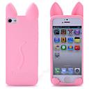 billige iPhone-etuier-Etui Til iPhone 5 / Apple iPhone 8 Plus / iPhone 8 / iPhone SE / 5s Støtsikker Bakdeksel Tegneserie / 3D-tegneseriefigur Myk Silikon