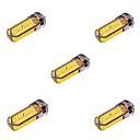 ieftine Becuri LED Bi-pin-YWXLIGHT® 5pcs 10 W Becuri LED Bi-pin 800-1000 lm G4 T 72 LED-uri de margele SMD 5730 Decorativ Alb Cald Alb Rece 12 V 24 V / 5 bc / RoHs