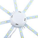 ieftine Becuri LED Plafon-YWXLIGHT® 1 buc 10 W 960 lm 24 LED-uri de margele SMD 5730 Decorativ Alb Rece 220-240 V / 1 bc / RoHs