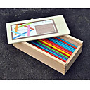 povoljno Muški satovi-Male igračkama za poklon Kocke za slaganje Igračka model i građenje Drvo žuta Igračke za kućne ljubimce