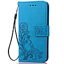 cheap Samsung Case-Case For Samsung Galaxy J7 (2016) / J5 (2016) / J3 Wallet / Card Holder / with Stand Full Body Cases Flower Soft PU Leather