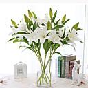 رخيصةأون أزهار اصطناعية-زهور اصطناعية 1 فرع أسلوب بسيط الزنابق أزهار الطاولة