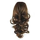 ieftine Extensii de Păr-Cordon Buclat Coadă de cal Elastic Fir de păr Extensie de păr 14 inch Bej