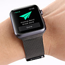 ieftine Carcase, Genți & Curele-Uita-Band pentru Apple Watch Series 5/4/3/2/1 Apple Curea Milaneza Oțel inoxidabil Curea de Încheietură