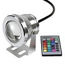 ieftine Proiectoare LED-Lumini Subacvatice Rezistent la apă / Controlat de la distanță / Telecomandă RGB 12 V LED-uri de margele
