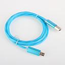 ieftine Cercei-USB 2.0 Cablu  1m-1.99m / 3ft-6ft Luminos Adaptor pentru cablu USB Pentru Samsung