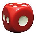 رخيصةأون ديكورات خشب-النرد النردات ورقائق صديقة للبيئة متخصص لهو راتينج ABS كلاسيكي للبالغين رجالي نسائي ألعاب هدية / حجم كبير