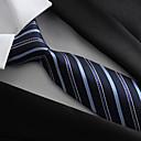 ieftine Legături Fundă-Bărbați Petrecere / Birou / De Bază, Poliester - Cravată / Albastru