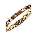 voordelige Fijne Sieraden-Dames Armbanden met ketting en sluiting Roestvast staal Armband sieraden Goud Voor Dagelijks Causaal