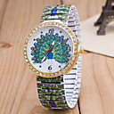 cheap Women's Watches-Women's Wrist Watch Quartz Multi-Colored Imitation Diamond Analog Ladies Flower Fashion - Green Blue Rainbow One Year Battery Life / Tianqiu 377