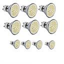 povoljno LED klipaste žarulje-10pcs 3.5 W LED reflektori 300-350 lm GU10 GU5.3(MR16) E26 / E27 MR16 60SMD LED zrnca SMD 2835 Ukrasno Toplo bijelo Hladno bijelo 220-240 V 12 V 110-130 V / 10 kom. / RoHs