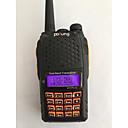 povoljno Muški satovi-BAOFENG UV-6 PLUS Ručna / Šiljci za meso Glasovna naredba / Dual band / Dual Display 1.5km-3km 1.5km-3km 128 1800 mAh 7 W Walkie Talkie Radio dva puta