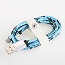 povoljno Android-USB 2.0 Kabel 1m-1.99m / 3ft-6ft Aluminijum USB kabelski adapter Za Samsung