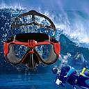 povoljno Pametni satovi-Zaštitne naočale Ronilačke maske Montirati Vodootporno Prilagodljiv 1 pcs Za Akcija kamere Gopro 6 Sport DV Gopro 5/4/3/3+/2/1 Ronjenje PU koža plastika