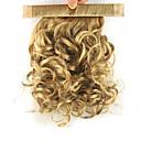 povoljno Ekstenzije za kosu-S kopčom Kovrčav Konjski repići Elastičan Zamotajte Kose za kosu Ugradnja umetaka 12 inčni Zlatan