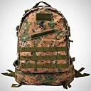 ieftine Genți & Huse-25 L Rucsaci Rucsac tactic militar Impermeabil În aer liber Camping & Drumeții Oxford CP Culoare camuflaj jungla Digital Desert