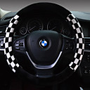 رخيصةأون جسم السيارة الديكور والحماية-أغطية إطارات القيادة قطيفة 38cm بني / أبيض / أحمر من أجل عالمي