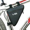 ieftine Genți Bicicletă-B-SOUL Genți Cadru Bicicletă Sac de cadă triunghiular Rezistent la umezeală Purtabil Rezistent la șoc Geantă Motor Poliester PVC Terilenă Geantă Biciletă Geantă Ciclism Ciclism / Bicicletă
