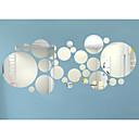رخيصةأون الستائر-3D ملصقات الحائط ملصقات الحائط على المرآة لواصق حائط مزخرفة, الفينيل تصميم ديكور المنزل جدار مائي جدار