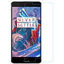 Screen Protector OnePlus Tempered Glass 1 pc Front Screen Protector High Definition (HD) / 9H Hardness / Mirror
